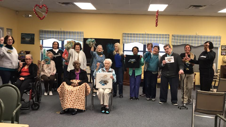 Senior Center Group Photo